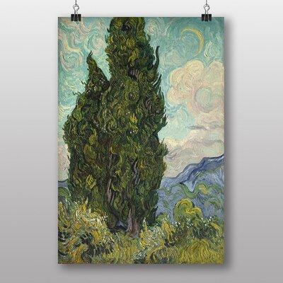 Big Box Art Cypresses by Vincent Van Gogh Art Print