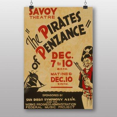 Big Box Art Pirates of Penzance No.2 Vintage Advertisement