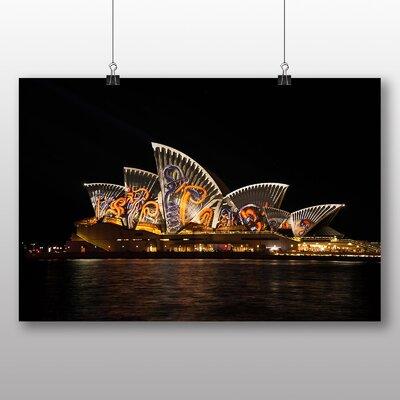 Big Box Art Sydney Opera House Harbour Australia No.14 Photographic Print Wrapped on Canvas