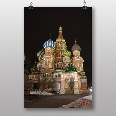 Big Box Art Saint Basils Cathedral Moscow Russia Photographic Print