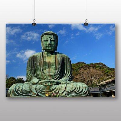 Big Box Art The Great Buddha of Kamakura Japan Photographic Print on Canvas