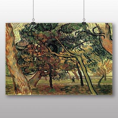 Big Box Art 'Landscape No.4' by Vincent Van Gogh Art Print