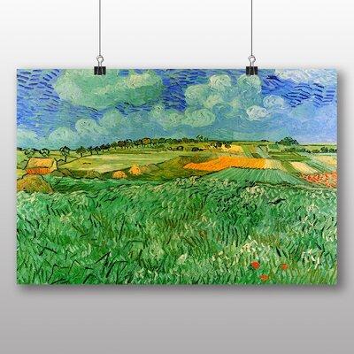 Big Box Art 'Plain Near Auvers' by Vincent Van Gogh Art Print