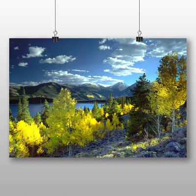 Big Box Art Twin Lakes Aspen Colorado USA Photographic Print Wrapped on Canvas
