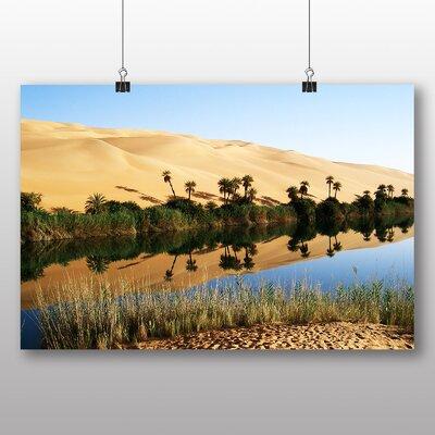 Big Box Art Sand Libya No.3 Photographic Print on Canvas