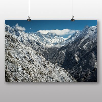 Big Box Art 'The View of the Mountains No.1' Photographic Print