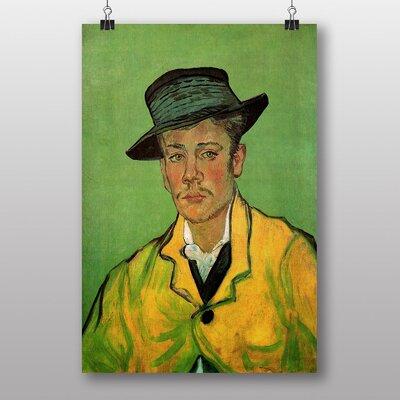 """Big Box Art """"Portrait of Armand Roulin"""" by Vincent Van Gogh Art Print"""