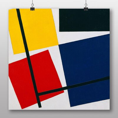 Big Box Art 'Simultaneous Counter Composition' by Theo Van Doesburg Graphic Art
