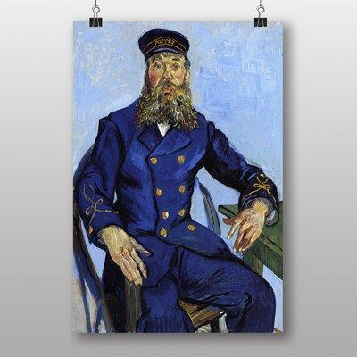 "Big Box Art ""The Postman Joseph Roulin"" by Vincent Van Gogh Art Print"