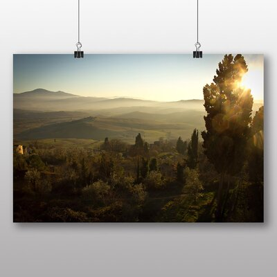Big Box Art 'The View of the Mountains No.11' Photographic Print