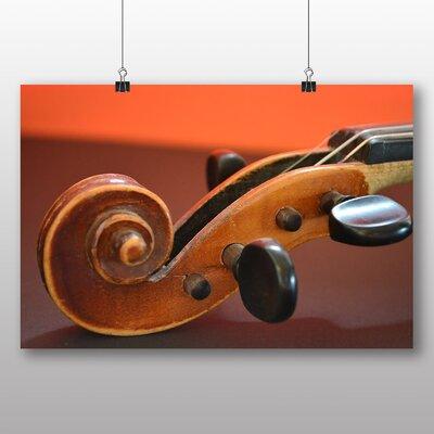 Big Box Art Violin Instrument No.2 Photographic Print