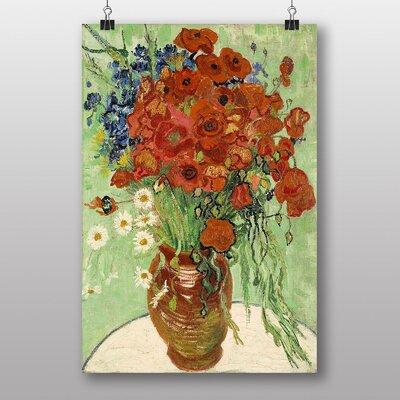 "Big Box Art ""Still Life with Daisys"" by Vincent Van Gogh Art Print"