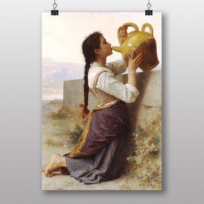 Big Box Art Thirst by William Adolphe Bouguereau Art Print