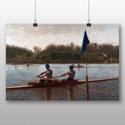 Big Box Art 'The Biglin Brothers Turning the Stake' by Thomas Eakins Art Print