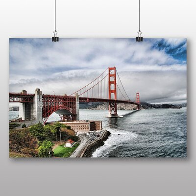 Big Box Art The Golden Gate Bridge San Francisco California No.8 Photographic Print on Canvas