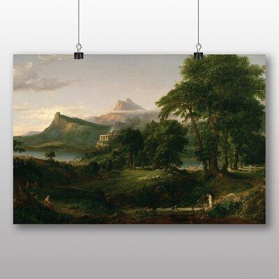 Big Box Art 'Arcadian' by Thomas Cole Art Print