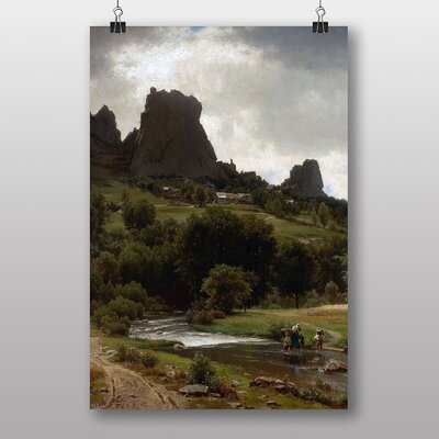 "Big Box Art ""Summer Pastorale"" by Thomas Worthington Whittredge Art Print"
