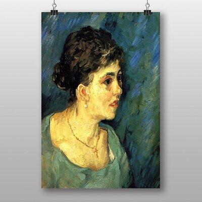 Big Box Art Woman by Vincent Van Gogh Art Print