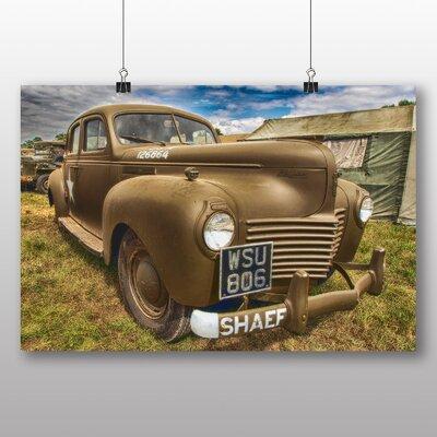 Big Box Art Vintage Classic Car No.9 Photographic Print