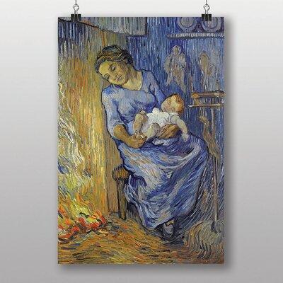 Big Box Art Mother with Child by Vincent Van Gogh Art Print