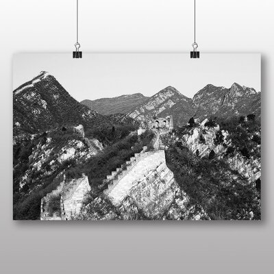 Big Box Art The Great Wall of China No.4 Photographic Print on Canvas