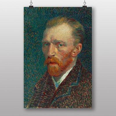 """Big Box Art """"Self Portrait"""" by Vincent Van Gogh Art Print"""