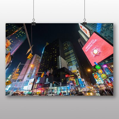 Big Box Art Times Square New York City USA No.4 Photographic Print on Canvas