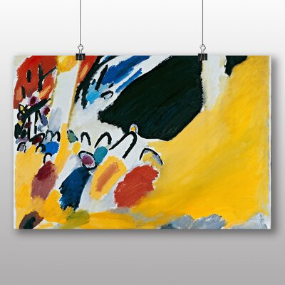 Big Box Art Composition' by Wassily Kandinsky Art Print