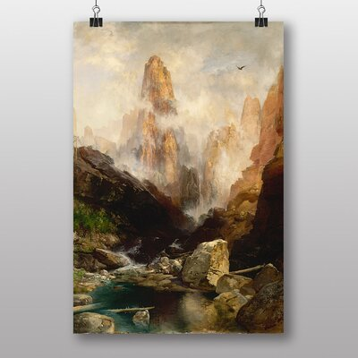 Big Box Art Mist in Kanab Canyon Utah by Thomas Moran Art Print