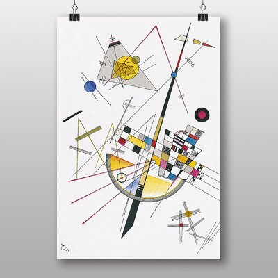 Big Box Art Abstract No.2 by Wassily Kandinsky Graphic Art