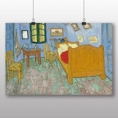 Big Box Art 'The Bedroom' by Vincent Van Gogh Art Print