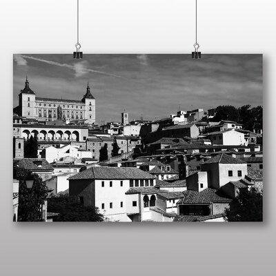 Big Box Art Toledo Spain No.1 Photographic Print Wrapped on Canvas