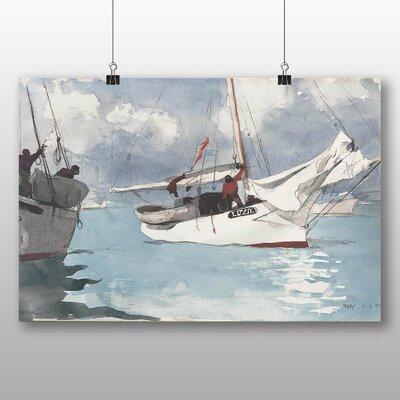 Big Box Art 'Fishing Boats, Key West' by Winslow Homer Art Print