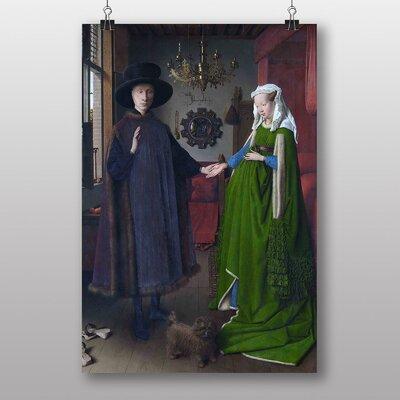 Big Box Art Portrait by Eyck Arnolfini Art Print