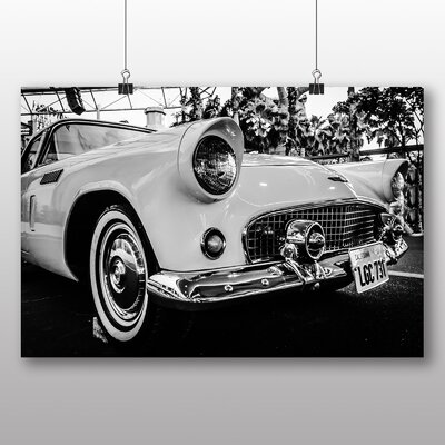 Big Box Art Vintage Classic Car No.11 Photographic Print Wrapped on Canvas