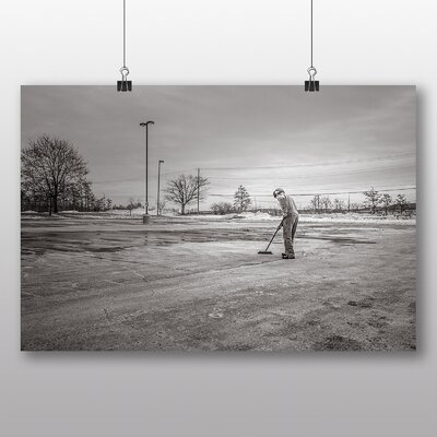 Big Box Art 'The Sweeping Man' Photographic Print