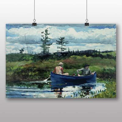 Big Box Art 'The Blue Boat' by Winslow Homer Art Print