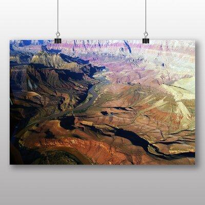 Big Box Art The Grand Canyon No.6 Photographic Print on Canvas