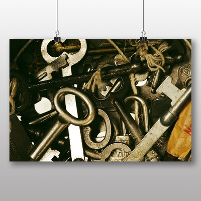 Big Box Art 'Vintage Keys' Photographic Print