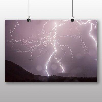 Big Box Art Thunder Lightening Storm No.4 Photographic Print