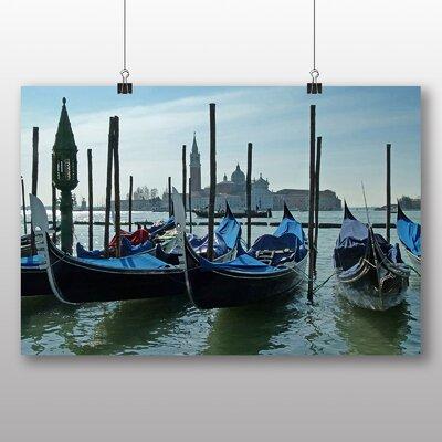 Big Box Art Venice Gondolas Photographic Print