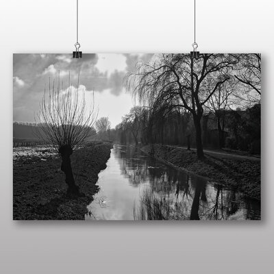 Big Box Art Weeping Willow Tree Photographic Print on Canvas