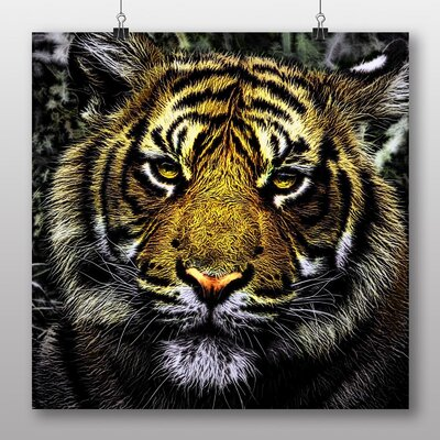 Big Box Art Tiger Art Photographic Print