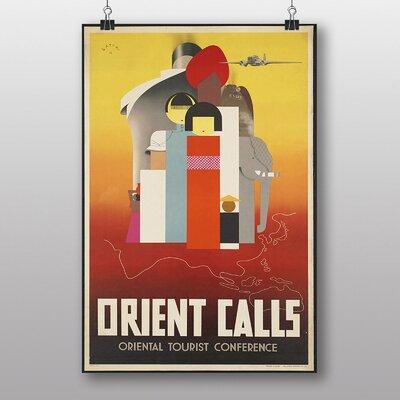Big Box Art Vintage Orient Calls Vintage Advertisement