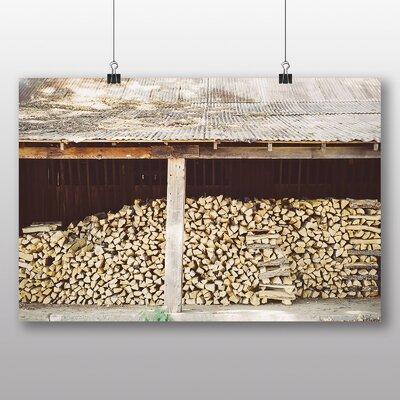 Big Box Art 'Wood Logs No.3' Photographic Print