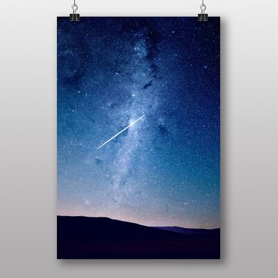 Big Box Art Shooting Star Graphic Art Wrapped on Canvas