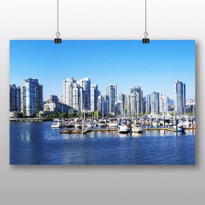 Big Box Art Vancouver Skyline City Canada No.2 Photographic Print