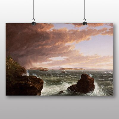 Big Box Art 'Views across Frenchmans Bay' by Thomas Cole Art Print