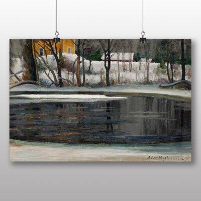 Big Box Art 'Winter Landscape' by Victor Westerholm Art Print