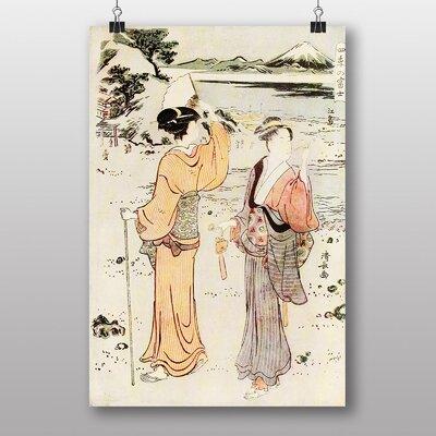 Big Box Art Vintage Japanese Oriental Art No.1 by Torii Kiyonaga Art Print